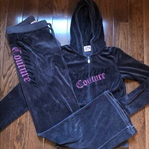 Authentic juicy couture sweatsuit